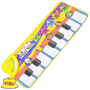 Baby Kids Music Games Carpet Animal Finger Touch Electronic Piano