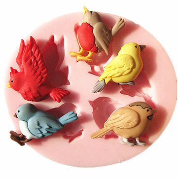 Bird Silicone Fondant Cake Mold Chocolate Mold Kitchen Baking Tools