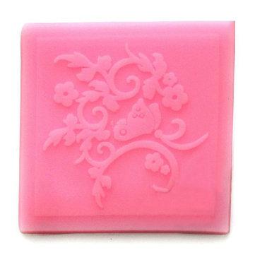 Pizzo silicone muffa del fondente goffratura muffa merletto del fiore