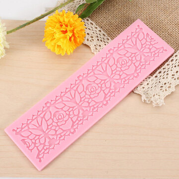 Silicone Lace Mold Chocolate Fandant Cake Decorating Mould