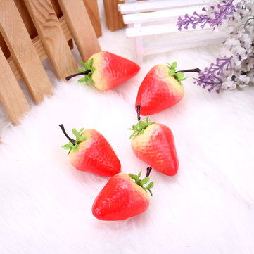 Artificial Strawberry Model False Fruit Props Learning Props Home Kitchen Decor