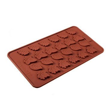 Leaves Silicone Fondant Cake Decorating Mold Chocolate Soap Mold
