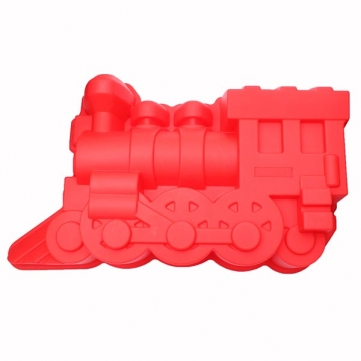 Train Shape Cake Mold Silicone Mold Cake Decoration Tools