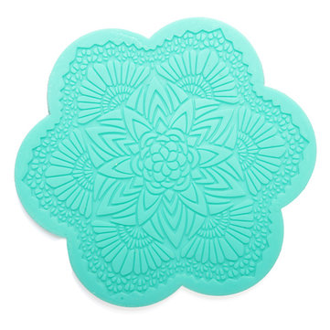 Instant Silicone Lace Cake Mold Fondant Cake Decoration Creative Kitchen Baking Tools