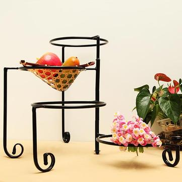 Euro Iron 4 Tiers Rotatable Cake Snack Plate Stand Holder Pastry Rack