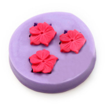 Silicone Cake Flower Mold Flower Fondant Chocolate DIY Soap Mold Baking Cake Decorating Tool