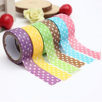 3M Japanese Dot Printing Decorative Washi Tape DIY Sticker