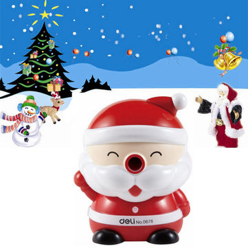 Creative Santa Claus Pencil Sharpener Children Christmas Gift