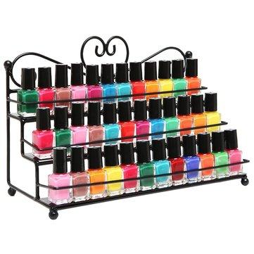3 яруса лак для ногтей дисплей стойки для одежды косметический макияж организатор