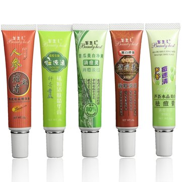Aloe Ginseng Plant Element Anti Acne Remove Vanishing Treatment Cream