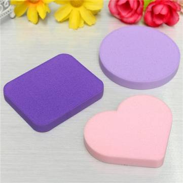 Dual-use Cosmetics Natural Latex Makeup Foundation Powder Puff