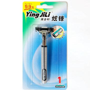 คู่มือใช้งาน Ying JiLi Mens Razor YII-254 เครื่องโกนหนวดไฟฟ้าแบบ Double Edge