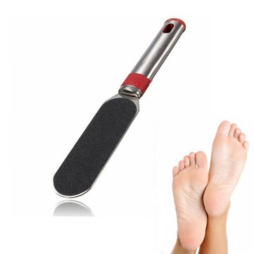 Stainless Steel Arenaceous Pedicure Foot File Manicure Tool Feet Skin Care
