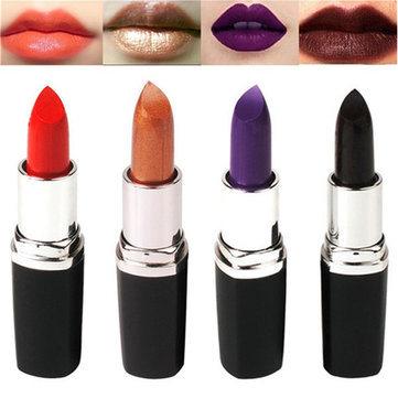4 Colors Black Lipstick Exaggerated Color Lip Makeup Party