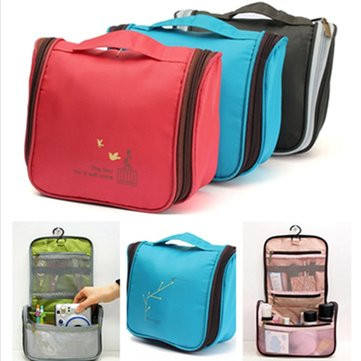 Multifunctional Water Travel Toilet Toiletry Bag Cosmetic Case Organizer Makeup Storage