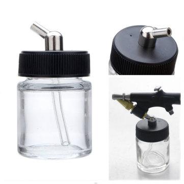 22cc Airbrush Jar Professional Airbrush Glass Bottle Pot