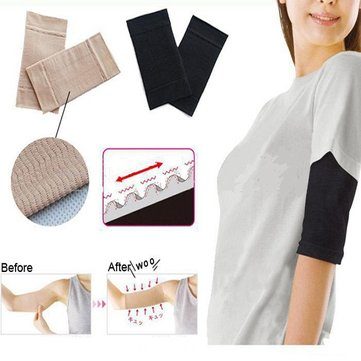 Ultra Thin Wave Arm Slimming Shapewear Massage Sleeve