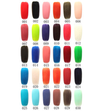120 Color Nail Art Soak off LED UV Gel Polish 15ML 001-030