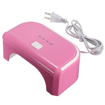 12W 90-240V LED Lamp Nail Art UV Gel Dryer Curing
