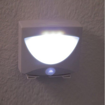 Mighty Light LED Motion Sensor Activated Night Light Indoor&Outdoor