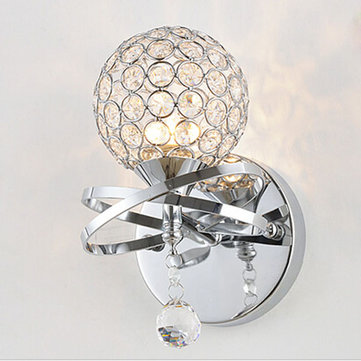 Decorative Crystal Wall Lamp Mounted Light For Porch Lighting