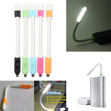 Portable Flexible Touch Control USB LED Night Light for Notebook Laptop PC Power Bank