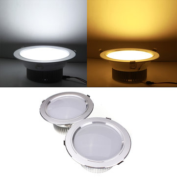 15W LED Down Light Ceiling Recessed Lamp Dimmable 110V + Driver