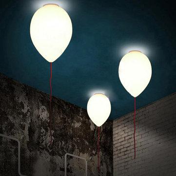 Creative Modern Glass Balloon Ceiling Light Children Lamp Two Sizes