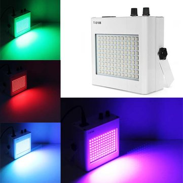 LED Voice Activated Strobe Stage Light KTV Disco Flashing Lamp
