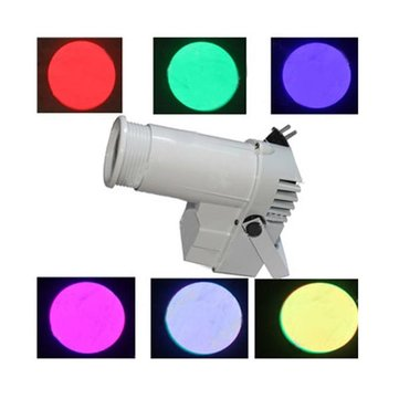 Full Color Voice Activated Rain Spot Lightt LED Mirror Ball Stage Light