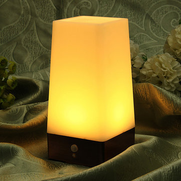 Wireless Retro Motion Sensor LED Night Light Battery Powered Lamp