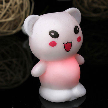 Christmas Lovely Bear 7 Color Changing LED Kids Decor Night Light