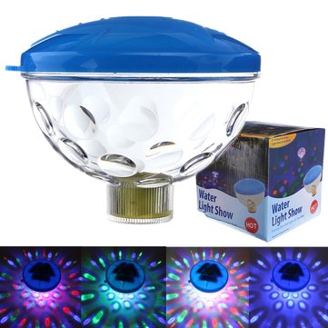 Underwater LED Disco AquaGlow ضوء تبين Pond Pool Spa Hot Tub