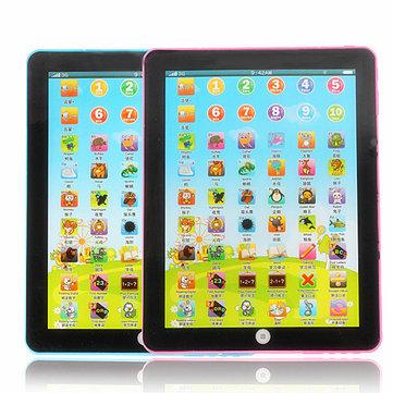 I bambini imparano l'inglese kid giocattolo educativo pad tavoletta elettronica