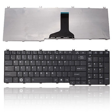 US Laptop Replacement Keyboard for Toshiba Satellite C660 C660D C665