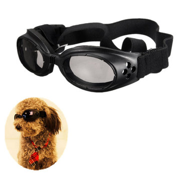 Pet Dog Glasses Eye Wear Goggle UV Sun Glassess Adjustable Strap