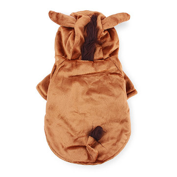 Pet Horse Style Thick Warm Dog Cat Coat Jumpsuit Costume Winter