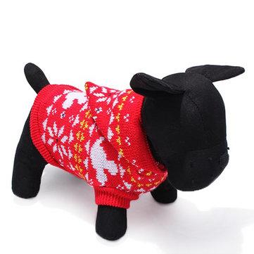 Cane da compagnia maglia traspirante maglione caldo inverno outwear