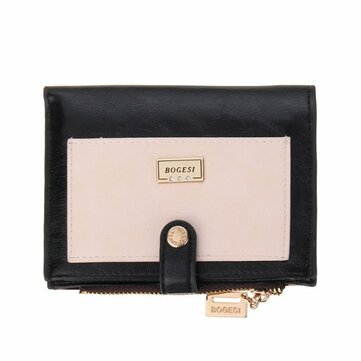 Women Short Wallet Girls Candy Color Purse Hasp Card Holder Coin Bags