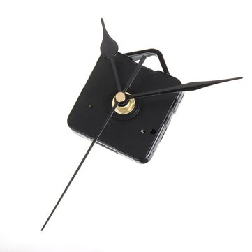 Black Hands DIY Quartz Clock Silent Movement Kit