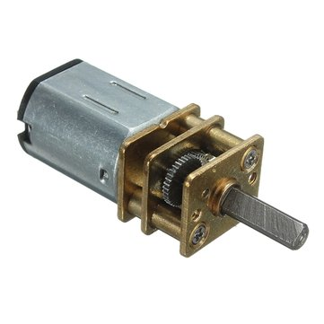 DC 6V 200RPM Mini Metal Gear Motor With Gearwheel