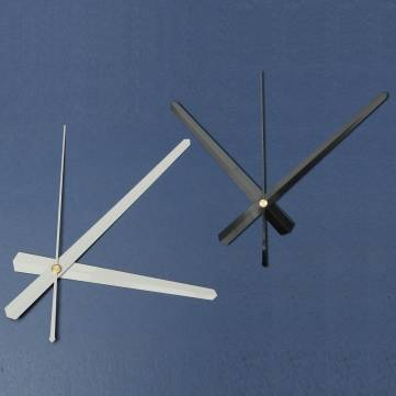 DIY Large Wall Clock Accessories Black White
