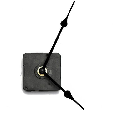 Black Hands Quartz Clock Movement Kit DIY Clock Kit