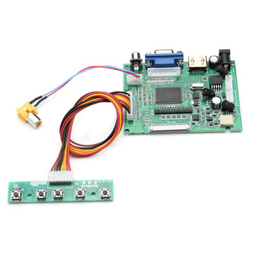 Universal LCD Display Driver Board PS2PS3xbox360 HD AV VGA