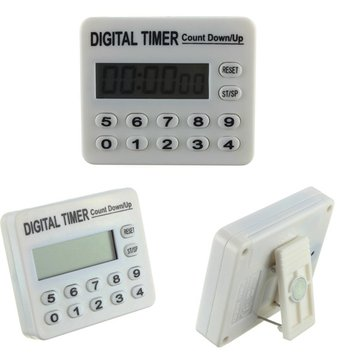 12 Keys Electronic Remind Digital Timer