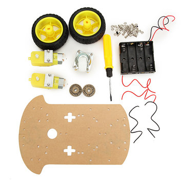 Smart Robot Car Chassis Kit Wireless Control For Arduino Carton Packaging