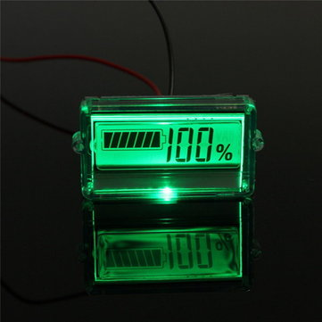 24V Waterproof LCD Lithium Battery Capacity Tester