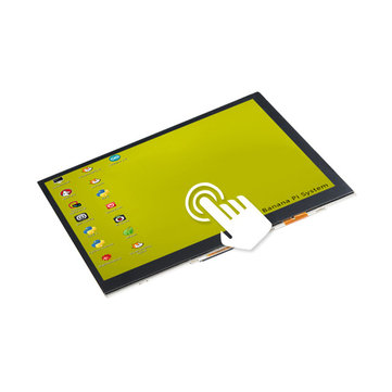 7 Inch Touch Screen RGB LCD Module For Banana Pi Banana Pro