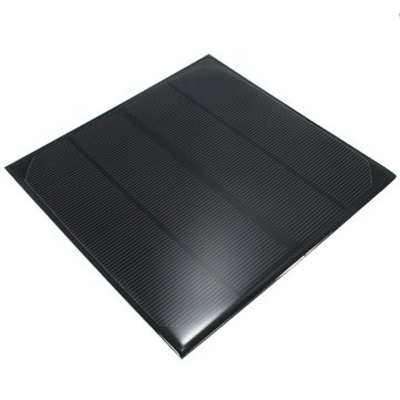 6V 4.5W 520mAh Monocrystalline Mini Epoxy Solar Panel Photovoltaic Panel