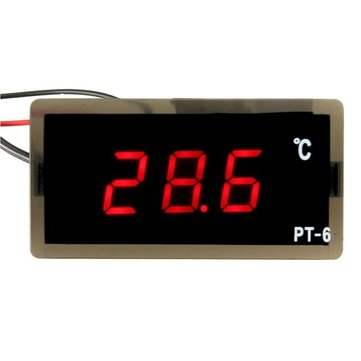 12V -40~110°C Auto LED Digital Thermometer Meter Probe